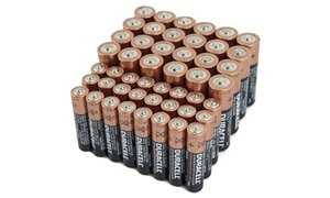 48-pack Of Duracell Coppertop Batteries With Duralock Technology  (24 Aa & 24 Aaa)