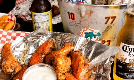 $10 for $20 Worth of Burgers, Dogs, and More at Moe'z 2