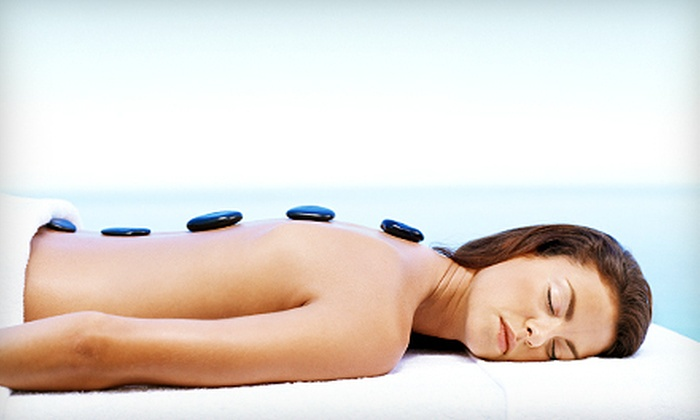 Angel Spa - Astoria,Astoria South,Long Island City,Ravenswood: 60-Minute Hot-Stone Massage, Choice of Facial, or Both at Angel Spa (Up to 62% Off)