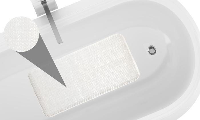 grass look vinyl bathtub mat groupon goods. Black Bedroom Furniture Sets. Home Design Ideas