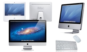 Apple iMac + Keyboard and Mouse