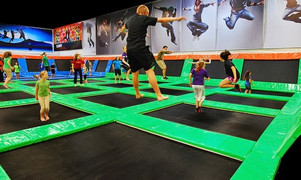 Three-Hours of Jump, Play, or Combo Activities for One or Two at Elevated Sportz (Up to 63% Off)
