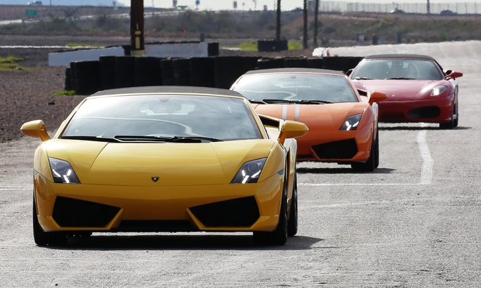 Global Exotic Car Rentals - Multiple Locations: Exotic Car Driving or Ride-Along Session from Global Exotic Car Rentals (Up to 64% Off)