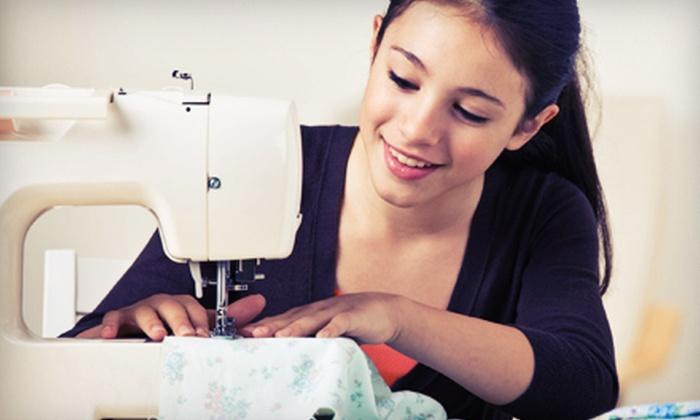 Brooklyn Yarn Cafe - Brooklyn Creative Studio: One-Time Sewing Class or Five-Week Introductory Sewing Program at Brooklyn Yarn Cafe (Up to 54% Off)