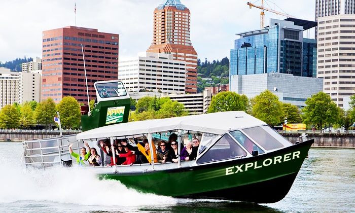 Portland Spirit Cruises - Salmon Springs Dock: 75-Minute Portland Bridges Cruise or All-Day Columbia Gorge Cruise from Portland Spirit Cruises (50% Off)