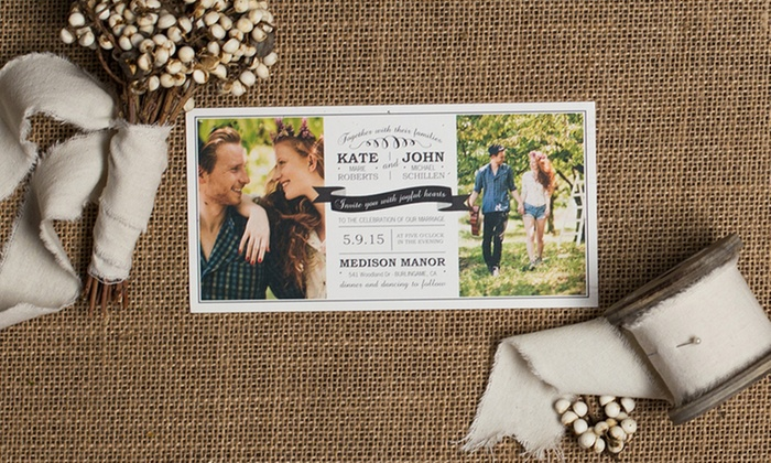 "Mixbook: 40, 75, or 115 Signature 5""x7"" Matte Photo Cards from Mixbook (Up to 65% Off)"