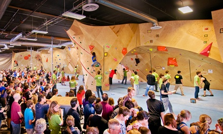 $16 for One-Week Beginner Rock-Climbing Package at The Bloc climbing + fitness ($30 Value)