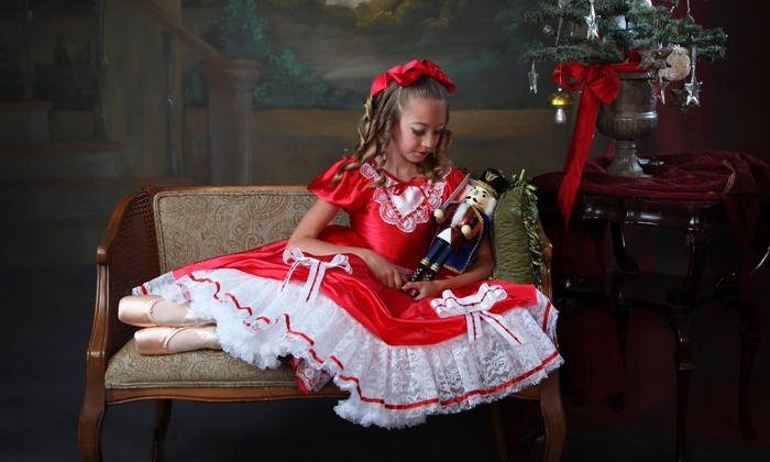 """TVCD Performing Arts - Temecula: $30 for Two Tickets to """"The Nutcracker"""" and One-Hour Child Dance Class at TVCD Performing Arts ($65)"""