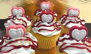 Cruzin Cakes Shop: Baked Goods or Valentine's Cupcakes from Cruzin Cakes Shop (Up to 46% Off). Three Options Available.