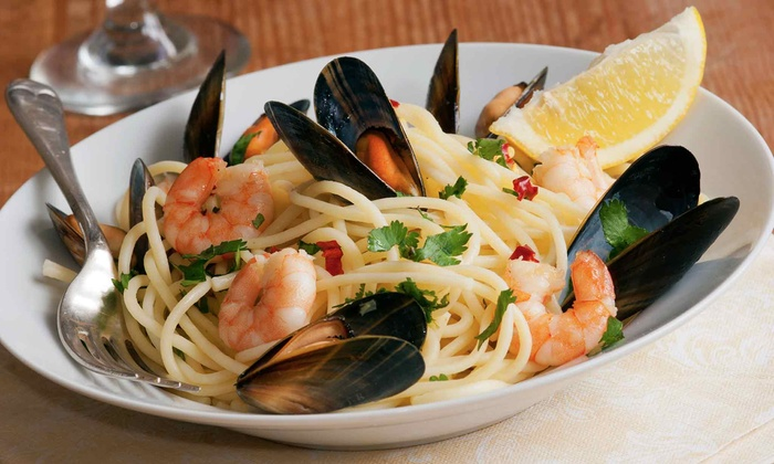 Tre Cugini - Heartside-Downtown: $25 for $50 Worth of Italian Dinner Cuisine and Drinks with Minimum Purchase of $75 at Tre Cugini