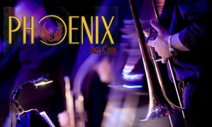 The Phoenix Jazz Club - Central Business District - Downtown: $15 for $30 Worth of Live Jazz, Drinks, and Eats at The Phoenix Jazz Club