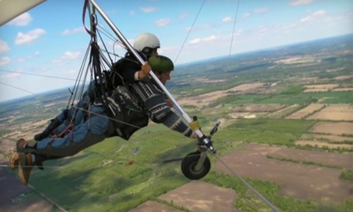 Fly Gravity Sports - Hope: $69 for a Tandem Hang-Gliding Session from Fly Gravity Sports in Hope ($168 Value)