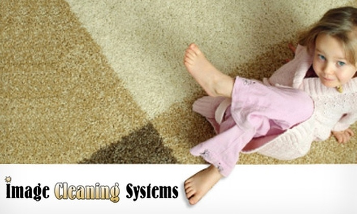 Image Cleaning Systems - Salt Lake City: $39 for a Three-Room Carpet Cleaning ($90 Value) or $65 for a Five-Room Carpet Cleaning ($150 Value) from Image Cleaning Systems
