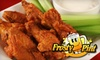 The Frosty Pint OOB - North Deering: $10 for $20 Worth of Wings and Drinks at The Frosty Pint