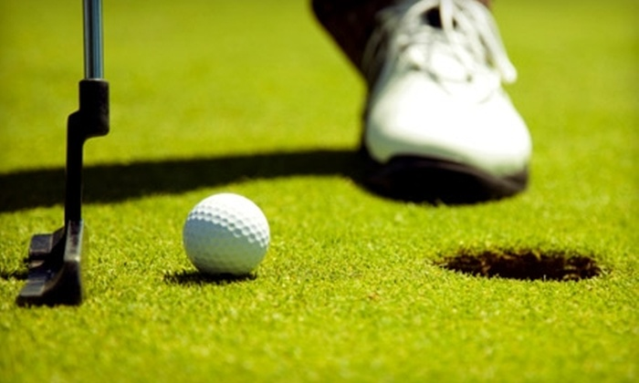 AllGolf Center - Pembroke Lakes: $20 for Four Rounds of Mini Golf, Four Batting-Cage Tokens, and Four Ice Creams at AllGolf Center in Pembroke Pines ($44 Value)