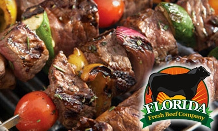 Florida Fresh Beef Company: $62 for Mail-Order Beef Baron's Tailgate Sampler from Florida Fresh Beef Company ($125 Value)