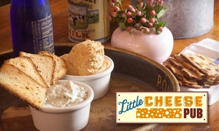 Little Cheese Pub - Chelsea: $15 for $30 Worth of Gourmet Cheese Dishes and Light Snacks (or $10 for $20 Worth of Brunch) at Little Cheese Pub