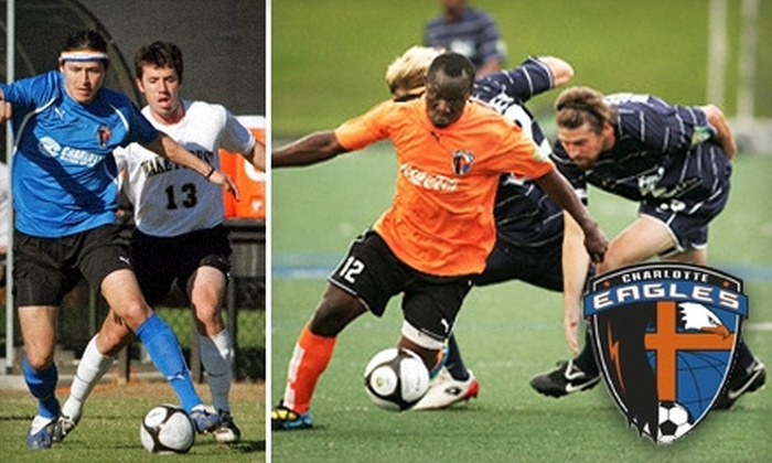 Charlotte Eagles - Lansdowne: $5 Ticket to a Charlotte Eagles Home Soccer Match