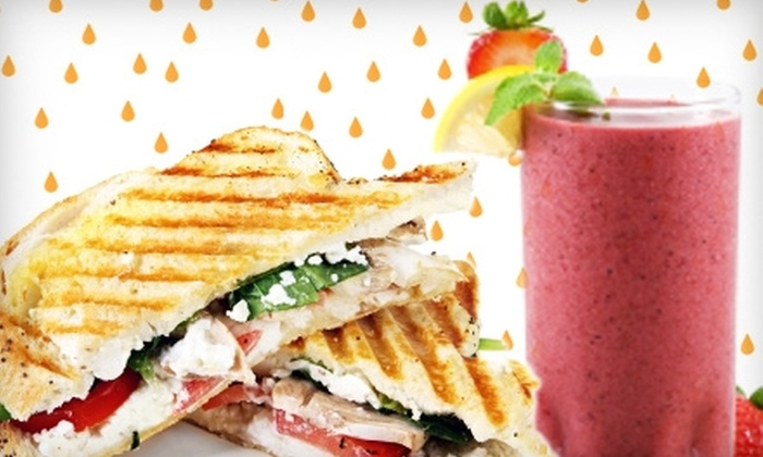 Get Juiced - Guelph: $5 for $10 Worth of Smoothies, Juices, and Healthy Fare at Get Juiced