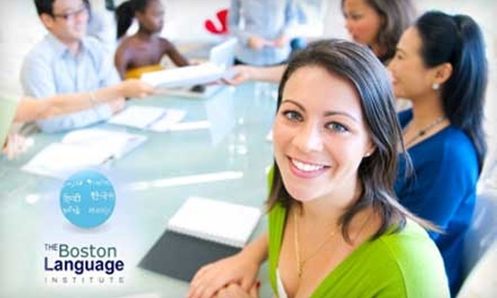 The Boston Language Institute - Fenway/Kenmore: $195 for a Six-Week Introductory Language Program at The Boston Language Institute (Up to $564 Value)