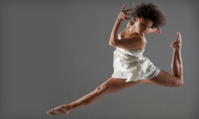 Motion Pacific - Central Santa Cruz: Five Dance Classes or 10 Dance Classes and Two Performance Tickets at Motion Pacific