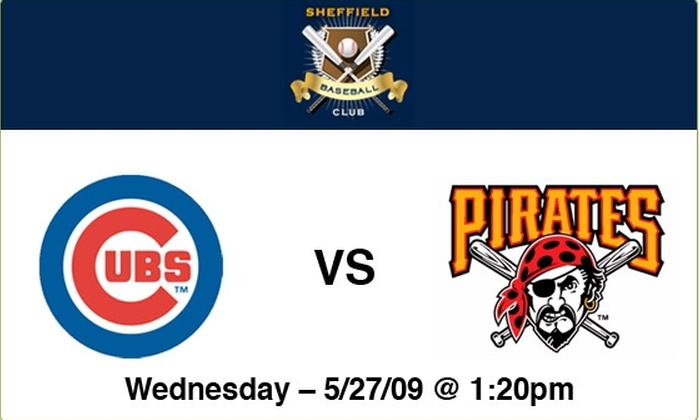 Sheffield Baseball Club - Lakeview: Cubs vs Pirates - 5-27-09 - 1:20 PM