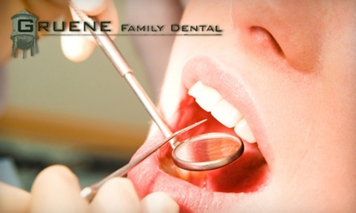 Gruene Family Dental - New Braunfels: $59 for Dental Cleaning, Exam, and X-rays at Gruene Family Dental in New Braunfels ($225 Value)