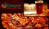 Mangia Neopolitan Pizza - South End: $10 for $20 Worth of Food and Drink at Mangia Neopolitan Pizza