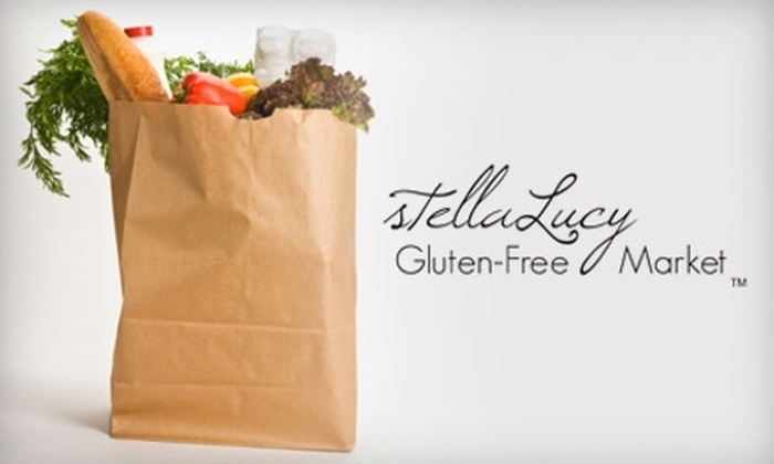 stellaLucy Gluten-Free Market - San Clemente: $15 for $30 Worth of Groceries at stellaLucy Gluten-Free Market in San Clemente