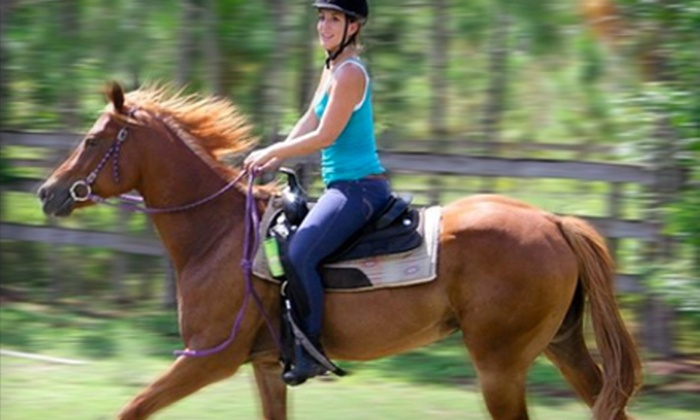 The Ranch House  - Homeland: One or Four Horseback-Riding Lessons or a Trail Ride for Two