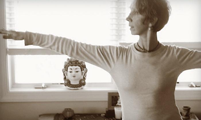 The Yoga Studio - Ellett - Jennelle: $45 for 10 Classes at The Yoga Studio in Blacksburg ($100 Value)