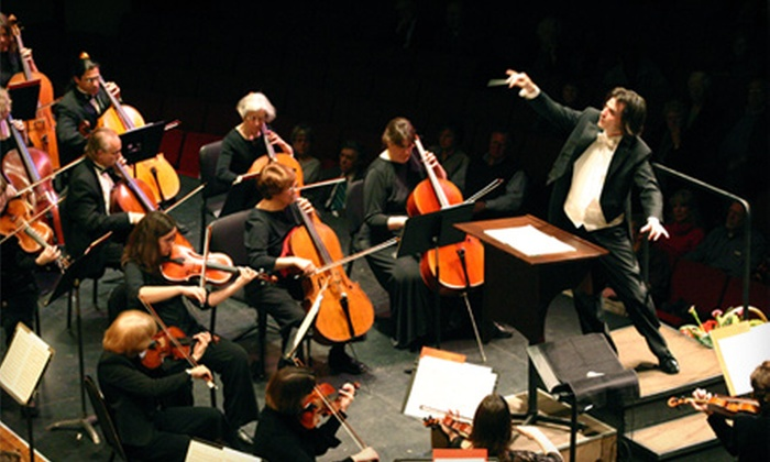 Asheville Symphony Orchestra - Downtown Asheville: $21 for One Ticket to the Asheville Symphony Orchestra on Saturday, October 15, at 8 p.m. (Up to $42 Value)