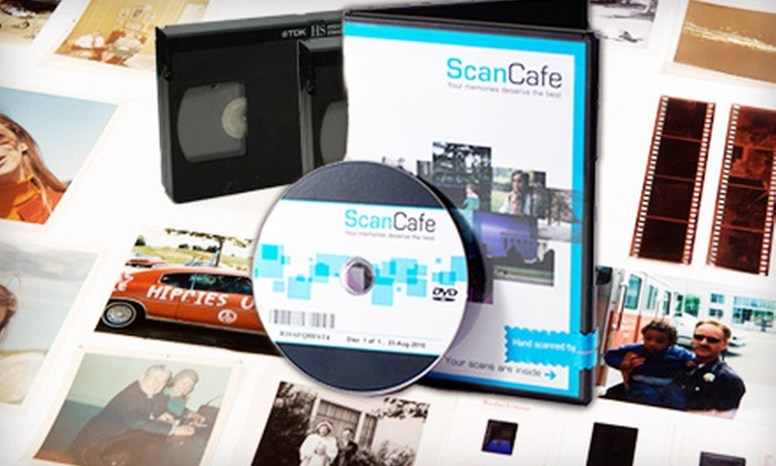 ScanCafe: $40 for $100 Worth of Photo and Video Digitization Services from ScanCafe