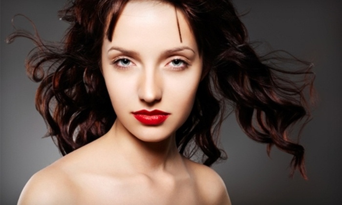 Euphoria Color and Hair Salon - Downtown Fayetteville: $20 for Design Cut and Style at Euphoria Color & Hair Salon ($40 Value)