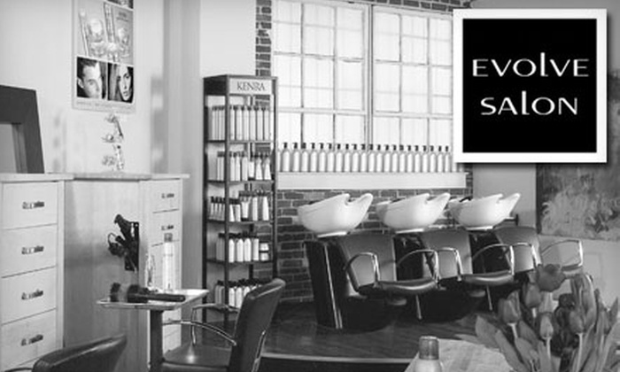 Evolve Salon - Cottage Home: $30 for $80 Worth of Hair and Waxing Services at Evolve Salon