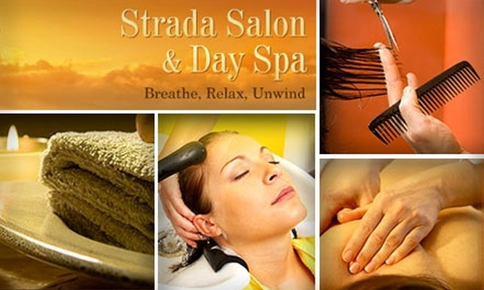 Strada Salon and Day Spa - Willow Glen: $40 for $80 Worth of Rejuvenating Services at Strada Salon and Day Spa