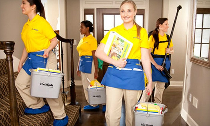 The Maids - Clive: Housecleaning Services in Up to 15 Rooms from The Maids (Up to 57% Off). Two Options Available.