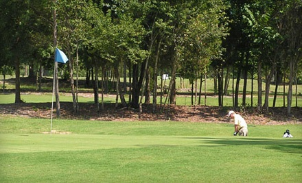 Golf Outing for 2 (a $67 value) - The Caddy Shak Restaurant & Driving Range in Lexington