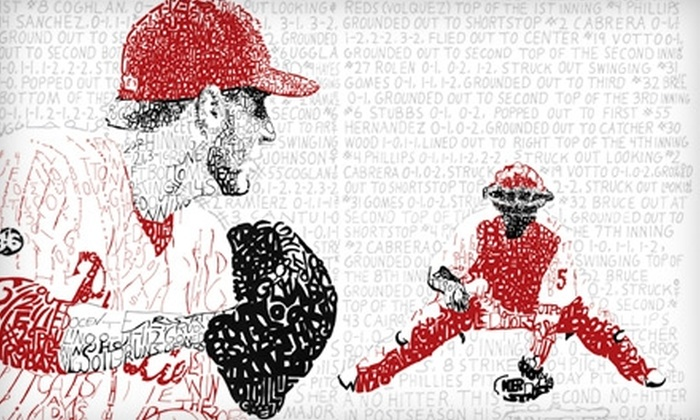 Lionword Illustrations: $15 for a Commemorative Roy Halladay Phillies Baseball Poster, Including Shipping, from Lionword Illustrations ($30 Value)
