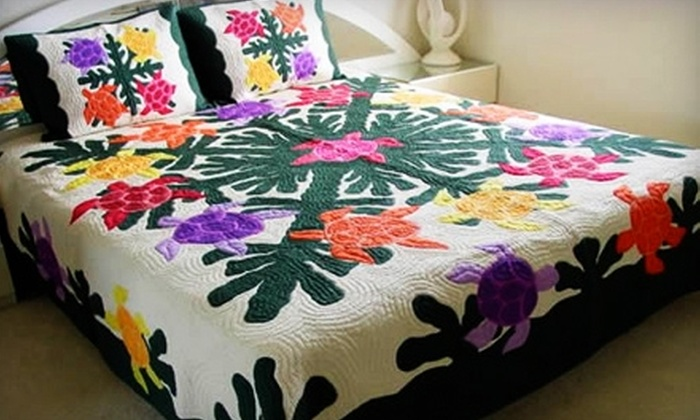 Hawaiian Quilt Wholesale - Honolulu: $25 for $50 Worth of Handmade Hawaiian Quilted Crafts from Hawaiian Quilt Wholesale