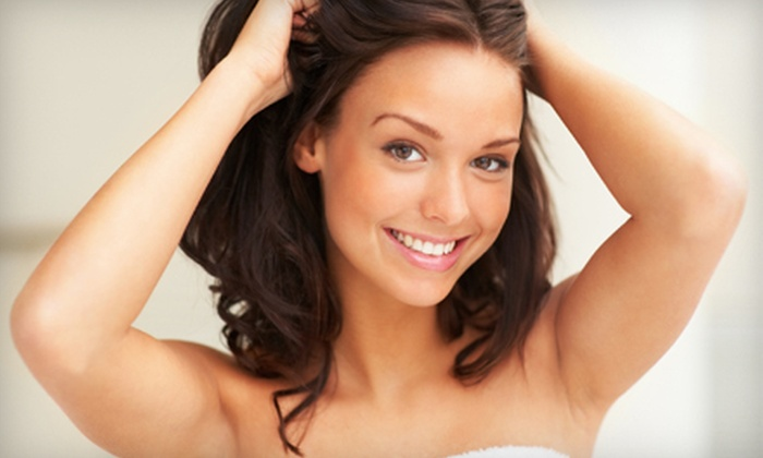 Aromas Therapy - Multiple Locations: Six Laser Hair-Removal Treatments for a Small, Medium, or Large Area at Aromas Therapy (Up to 77% Off)