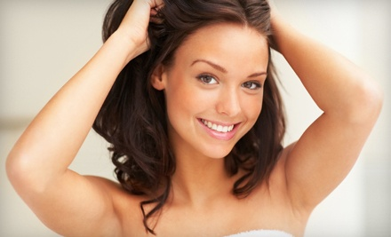6 Laser Hair-Removal Treatments for Any 1 Small Area  - Aromas Therapy in Doral