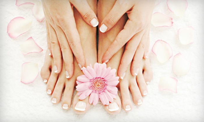 Avryl Styles - Northwest Columbia: $25 for a Mani-Pedi at Shimmer ($50 Value)
