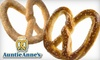 Auntie Anne's - Multiple Locations: $5 for $10 Worth of Pretzels and More at Auntie Anne's in Philadelphia