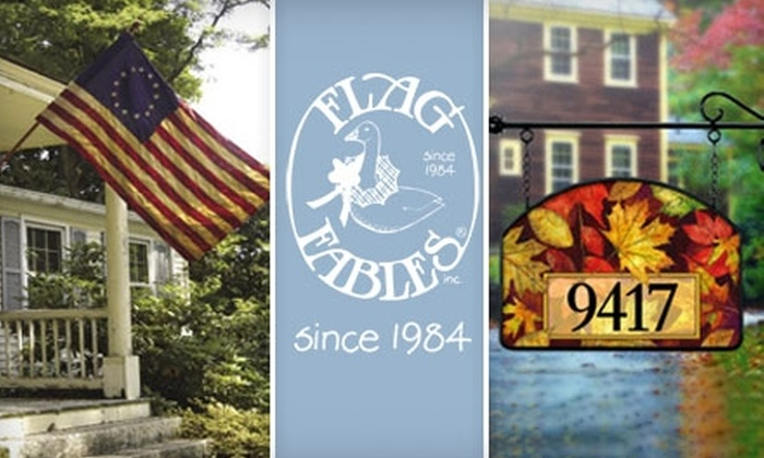 Flag Fables - West Springfield: $15 for $30 Worth of Flags and Outdoor Decor at Flag Fables