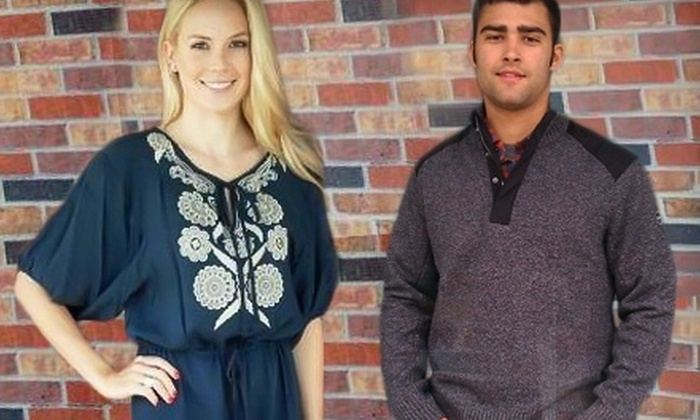 Post and Nickel - Multiple Locations: $25 for $50 Worth of Designer Apparel at Post and Nickel