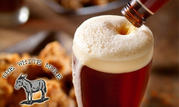 The White Mule - Downtown: $12 for $25 Worth of International Fare and Drinks at The White Mule