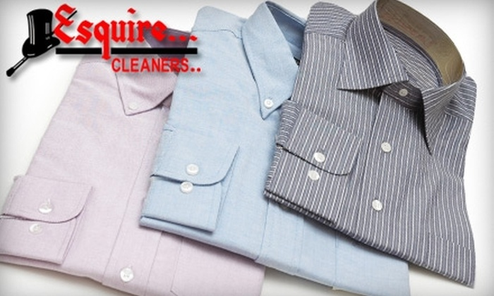 Esquire Cleaners - Norcross: $15 for $30 Worth of Dry Cleaning, Clothing Alterations, Shoe Repair, and More at Esquire Cleaners in Norcross