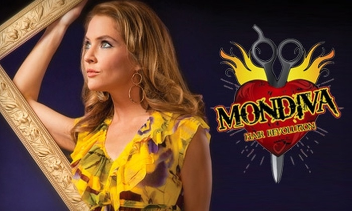 Mondiva Hair Revolution - Hillcrest: $150 for $300 Worth of Custom Clip-In Hair Extensions or $50 for $100 Worth of Service at Mondiva Hair Revolution