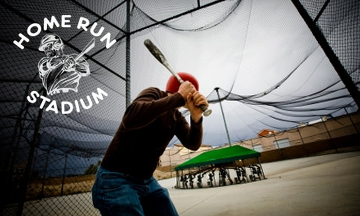Home Run Stadium - Reed Park Neighborhood: $10 for One Hour of Batting-Cage Practice at Home Run Stadium in Mesa ($23 Value)